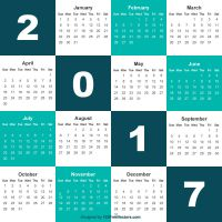 Download Calendar 2017 Free by 123freevectors