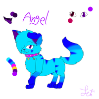 Angel Ref sheet by Letipup