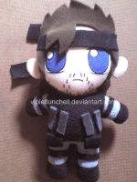 another solid snake plushie by VioletLunchell