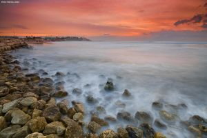 Jaffa Sunset by erezmarom