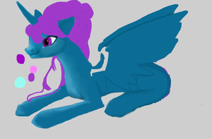 MLP oc: diamond (un-finished) by Stormdeathstar9