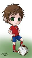 APH World Cup Chibis: Spain by akome1206