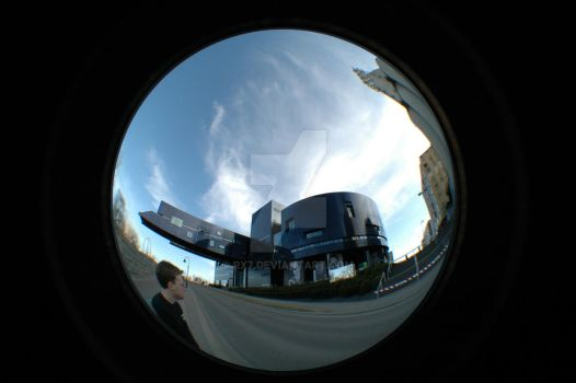Guthrie Theater Fisheye by rx7