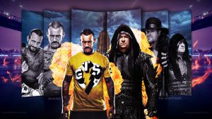 CM Punk vs The Undertaker WM29 by i-am-71