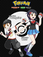 Trainer Class - Youngster and Lass by Dragonith
