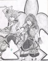 KH2: His and My Valor Form by InkAJen