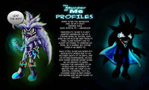 TMOM Profiles-Silver the hedgehog by Gigi-D