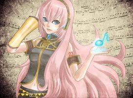Megurine Luka. by paet