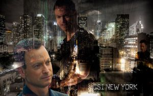 csi ny wall 3 by strawberrycooky