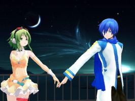 MMD KaitoxGumi by Haleylamperouge