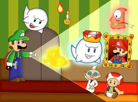 Luigi's Mansion by Not-WisqoXD