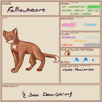 :TheWarriorsGuild: Fallowheart App -Updated- by Kurona-tan