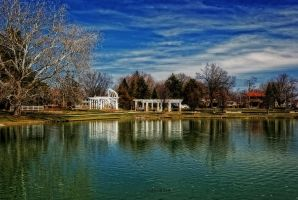 Lakeside Park in Spring by redwolf518