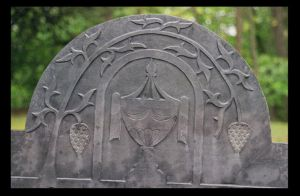 Headstone Carving by NightShades