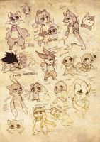 PMD-E Sketchbookpage by Aishishi