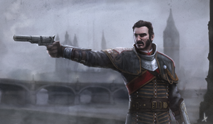 Galahad (Order 1886) by AndWhatArt