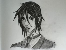 Sebastian, Black Butler by willowoak68