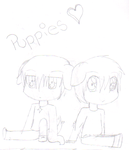 PUPPIES-Request- by ChocolateDollie
