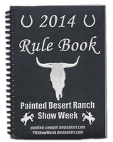 2014 PD Show Week Rule Book by painted-cowgirl