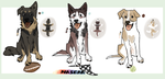 Dog adoptables! by Jessadopts