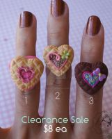 Yummy Rings Clearance Sale by colourful-blossom