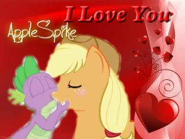 AppleSpike Kiss by cowgirlAppleJack