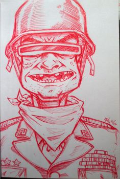 Sketch Bk. General F.U. by Trashe-Trav
