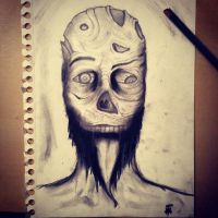 Zombie Charcoal by riky169