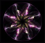 flower wheel of glass... by FeliFee