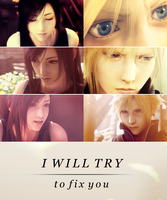 I will try to fix you - Cloud and Tifa by damage-ctrl