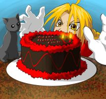 FMA - Happeh Bday Ed by Saiyakupo
