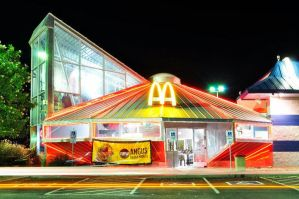 Unidentified Flying McDonalds by SublimeBudd