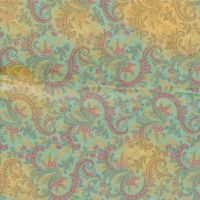 Paisley Fabric Paper by caffeine2