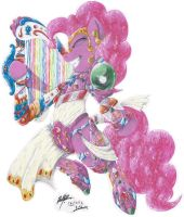 Warrior Of Harmony: Pinkie Pie (Pony Version) by Darka01