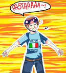 APH: Pixel Italy by Field-Of-Roses