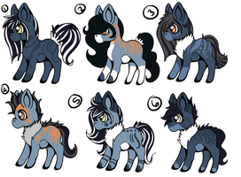 ShadowIrexShapeShifter Foals CLOSED by KingRefi