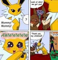 The Eevees 23: Mommy's Day by NoaQep