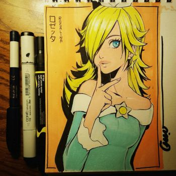Rosalina in persona style  by Omar-Dogan