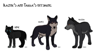 The Pups - Character Sheet by CappuccinoDai