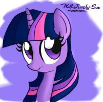 Twilight the Sparkle (Doodle) by WillisNinety-Six