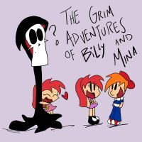 Grim A of Billy and Mina by 221bee