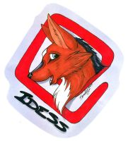 Old Art - Idess Badge by ErebusNyx