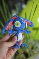 Fizz from League of Legends Amigurumi Doll by Npantz22