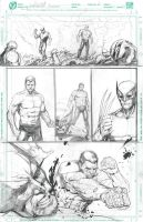Wolverine Vs Colossus Page 2 by JerooKaskeroo