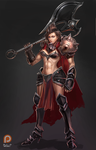 Female Darius by BADCOMPZERO