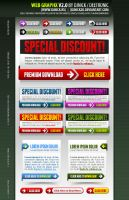 Web Graphics 2 layered PSD by djnick2k