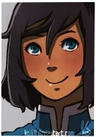 Korra: Thank you for 1 year! by Koikii