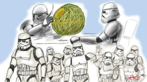 Crowd of Imperial Stormtroopers by Drawer888