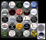 NCIS 1' buttons by eitanya