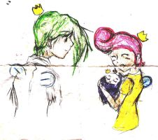 Cosmo Wanda and Poof by shinosecret
